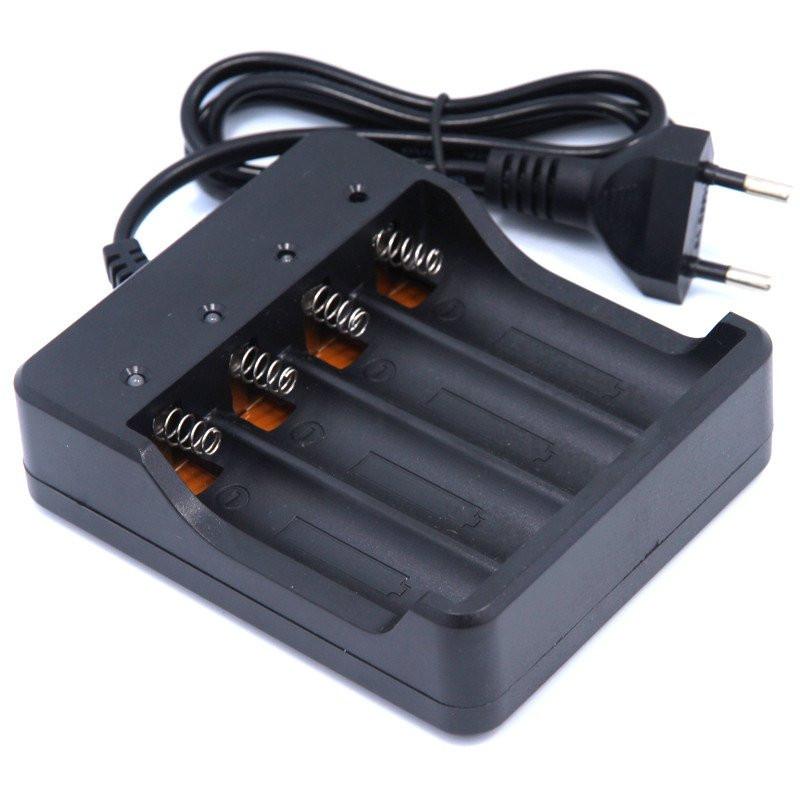 Зарядное устройство 18650 на 4 шт.