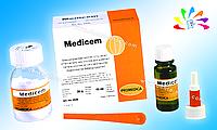 MEDICEM, фиксирующий стеклоиономерный цемент, пор. 35 г + жидк. 15 мл (с ложечкой)