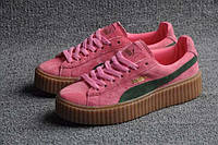 Кроссовки Puma Rihanna x Puma 900440  розовые  женские