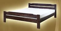 """Кровать """"Никко-1"""" из массива ольхи (Темп)"""