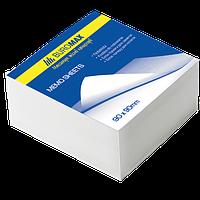 Бумага для заметок белая BUROMAX 8*8см, 500л., не скл. 2204