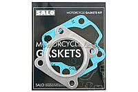 "Прокладки цилиндра (набор)  на скутер   Suzuki AD100   Ø52   ""AS""   (безасбестовые)"