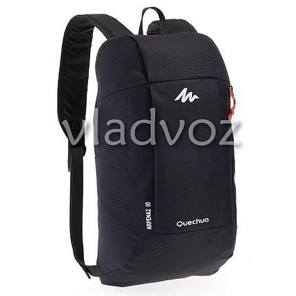 Городской, спортивный рюкзак Arpenaz 10L черный, фото 2