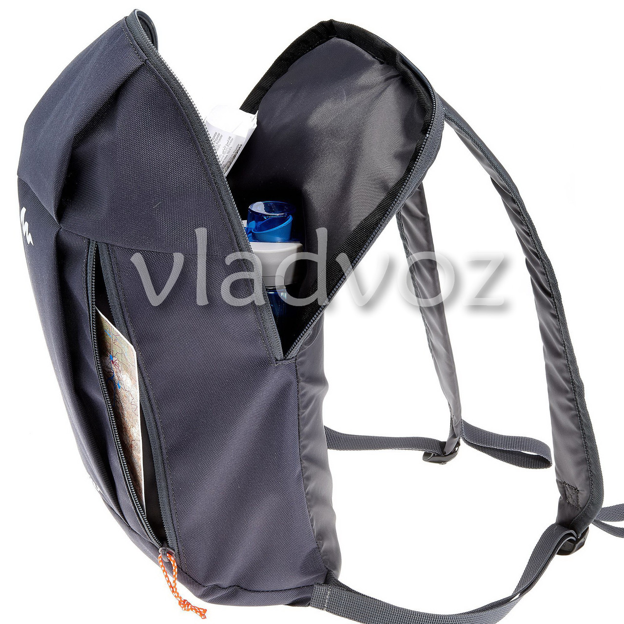 Городской, спортивный рюкзак Arpenaz вид внутри