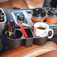 Автомобильный органайзер, подставка для стаканов