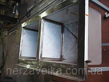 Мойка двух секционная из нержавеющей стали