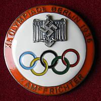 Памятный знак Олимпиада Берлин 1936г., фото 1