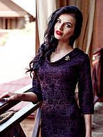 Шикарное женское платье с интересной спинкой