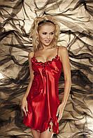Оригинальная сорочка из сатина Gabi TM Dkaren (Польша) Цвет красный