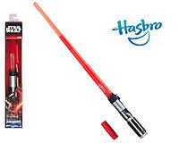 Электронный раскладной световой меч Дарта Вейдера (звук, свет) - Darth Vader, Star Wars, BB, Hasbro