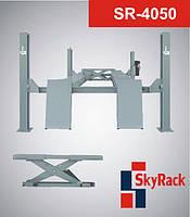 Автомобильный четырехстоечный электрогидравлический подъемник SR-4050 SkyRack Великобритания