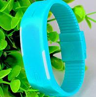 Кварцевые спортивные часы LED Sport (blue)