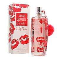 Женская туалетная вода Naomi Campbell Cat Deluxe with Kisses (Наоми Кэмпбелл Кэт Делюкс виз Киссес)