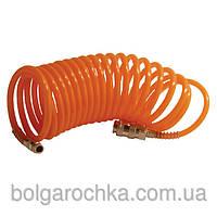Шланг спиральный с быстроразъемным соединением 10м, INTERTOOL PT-1704