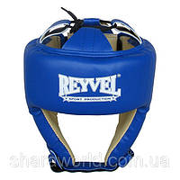 Шлем боксерский REYVEL / Винил (1) / Размер: M / Цвет: красный, синий, черный, белый