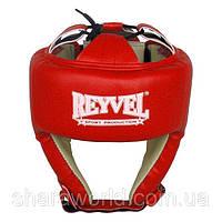 Шлем боксерский REYVEL / Винил (1) / Размер: L / Цвет: красный, синий, черный, белый, фото 1