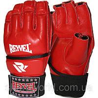 Перчатки микс файт REYVEL / кожа / Размер: L / Цвет: красный, синий, черный /, фото 1