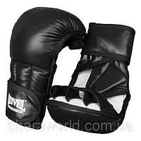 Перчатки рукопашные REYVEL / кожа / Размер: М / Цвет: красный, синий, черный /