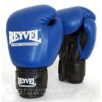 Боксерские перчатки REYVEL / Кожа / Унции: 10 oz / Цвет: красный, синий, черный, белый, желтый, зеленый /, фото 1