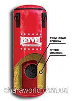 Мешок бокс. PVC 900 с центровиком Reyvel / Высота: 1,5 м. Диаметр: 40 см. / Цвет: красный, синий