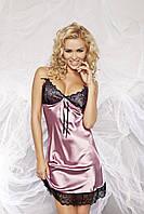 Роскошная женская сорочка Karmen2 TM Dkaren (Польша) Цвет розовый