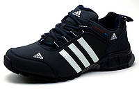 Кроссовки мужские Adidas Marathon TR 7, нубук, темно-синие, фото 1