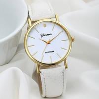 Недорогие женские часы белые