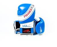 Боксерские перчатки PowerPlay 3023 Blue