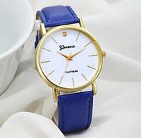 Женские часы синие Geneva