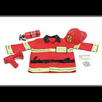 MelissaDoug MD4834  Костюм Пожарный  на 3 года (Melissa&Doug)