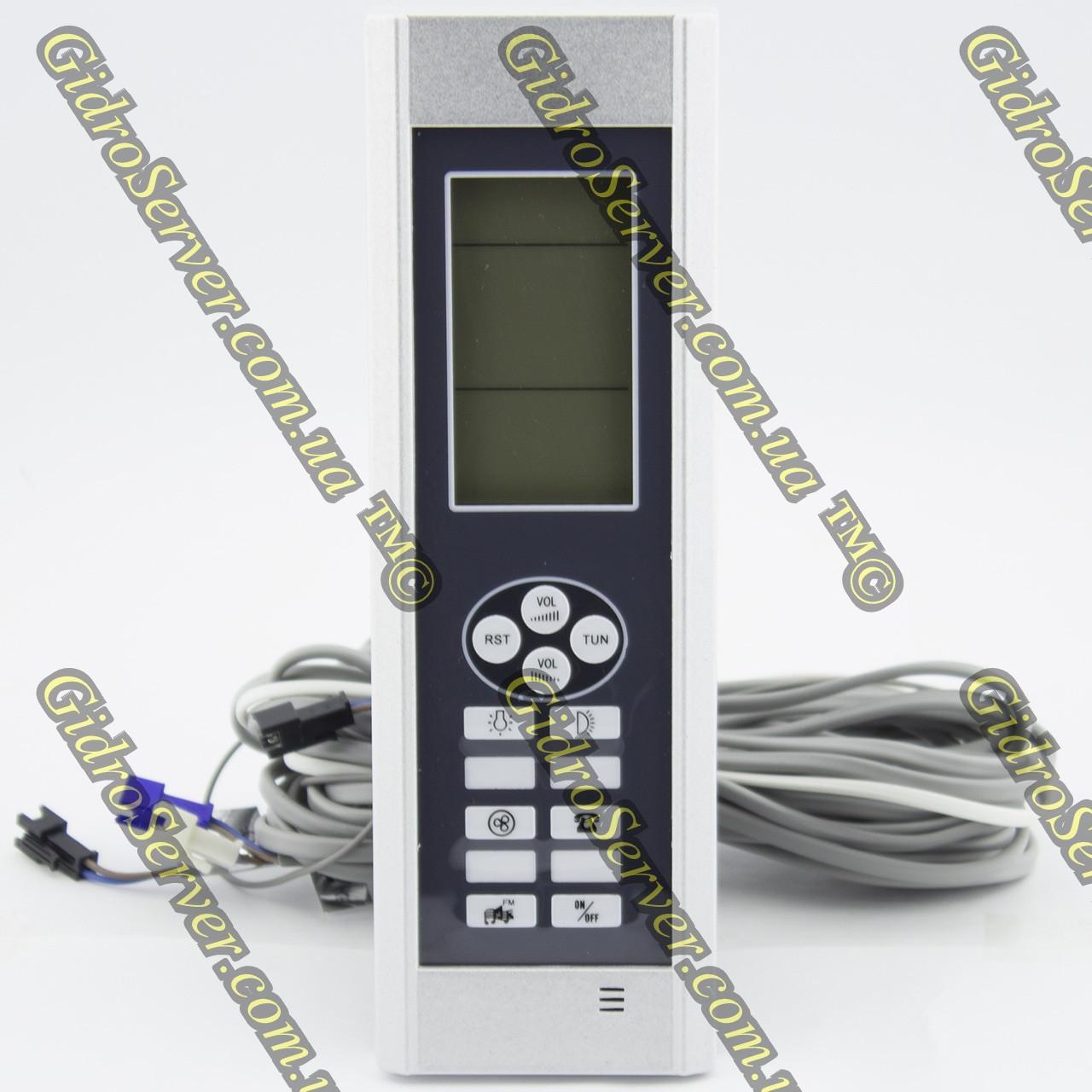 Пульт управління для душової кабіни, гідромасажного боксу PU-02.