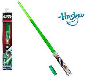 Электронный раскладной свет. меч Люка Скайуокера (звук, свет)- Luke Skywalker, Star Wars, BB, Hasbro