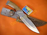 Нож охотничий Спутник 14 ножны кожа документы, фото 2