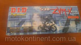 Мото цепь  525 DID 525ZVM-X G&G золотая для мотоцикла количество звеньев 106 сальник X 2 -Ring