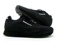 Мужские Кроссовки Reebok CL Classic в черном цвете
