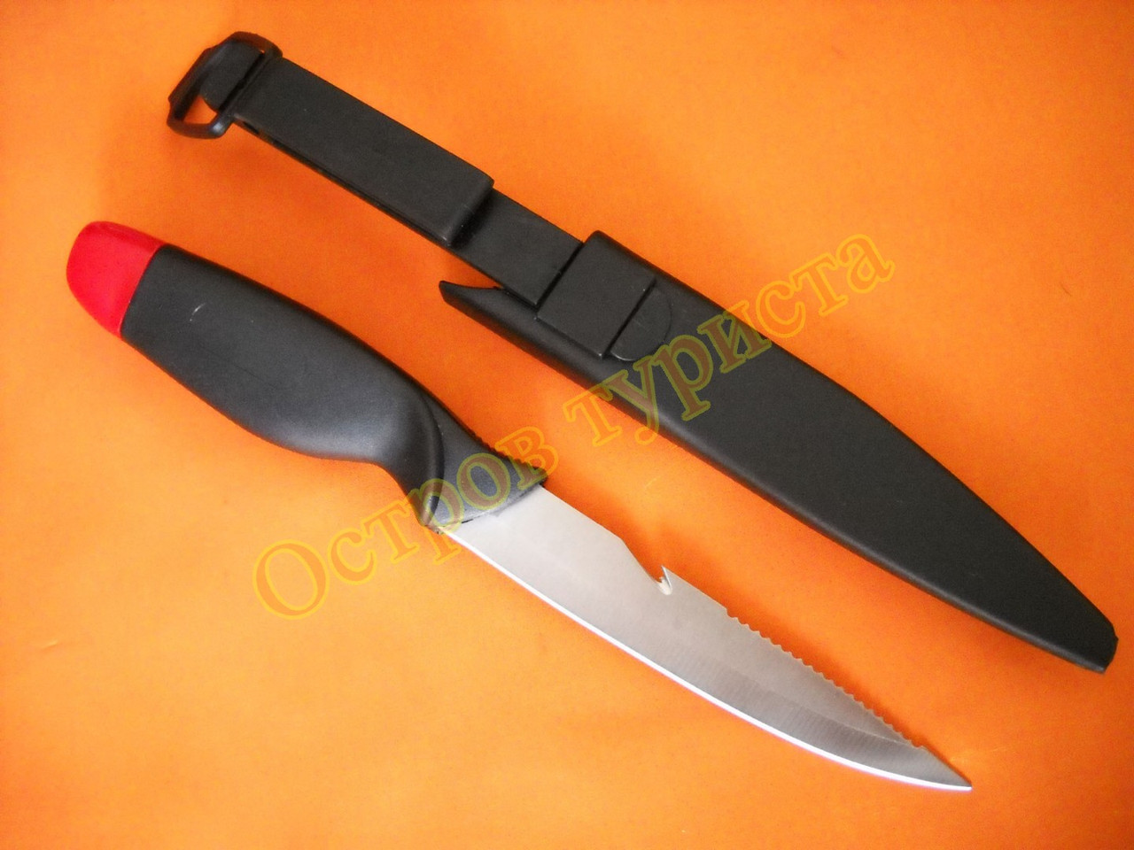 Нож-поплавок ОТ205 с ножнами защелкой