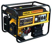 Генератор бензиновый 6.5кВт 4-х тактный электрозапуск SIGMA 5710341