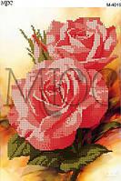 Схема для вышивки бисером Трио роз