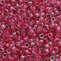 Бисер Preciosa Чехия №38898 1г, бордовый прозрачный с внутренней окраской
