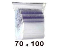 Zip Lock пакет 70 × 100