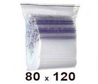 Zip Lock пакет 80 × 120
