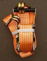 Стяжка груза, 2t. 50mm.x6m.(0.5+5.5) метал. ручка <ДК>