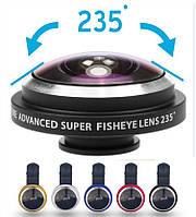 Super fisheye 235° для телефона
