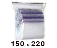 150 × 220 - Пакет Zip Lock