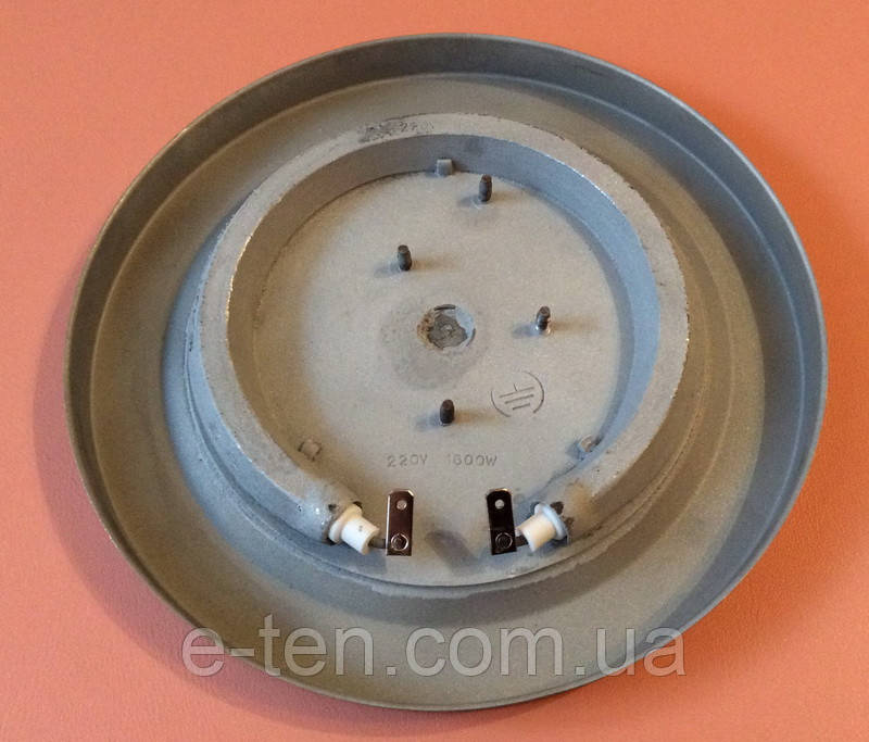 Диск №8 со встроенным ТЭНом (нагревательным элементом) 1600W / 220V для электрочайника (на 4 крепления)