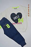 Качественный комплект на девочку кофточка + штаны  под заказ