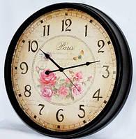 Металлические  настенные часы Париж 714-8