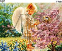 Схема для вышивки бисером Милый ангел