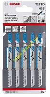 Набор пилочек по металлу T 127 D (5 шт), 2608631017, Bosch