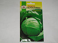 Семена капусты белокочанной поздней Белоснежка 1 г Кронос
